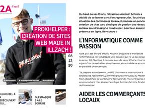 """ProxHelper : Création De Sites Web Made In Illzach !"""