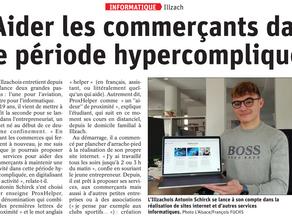 ProxHelper dans la presse Alsacienne