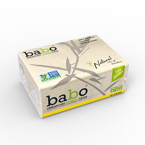 Babo Facial Tissue 10 Packs 900 Count ( 90CT per Pack )