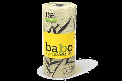Babo Unbleached Paper Towel