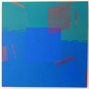 Blue Square No. 2