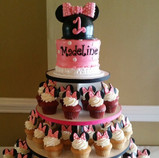 Mickey with Cupcakes