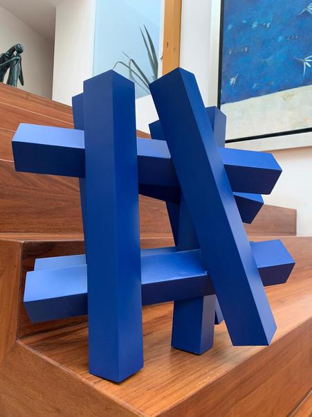 Hashtag Azul Yves Klein