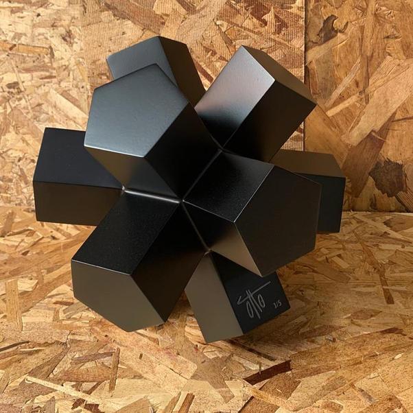 Dodecaedro Negro