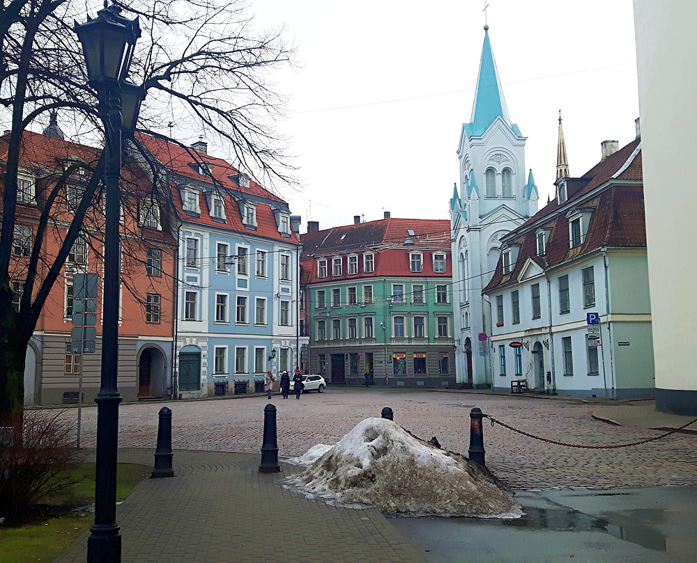 Colourful streets of Riga
