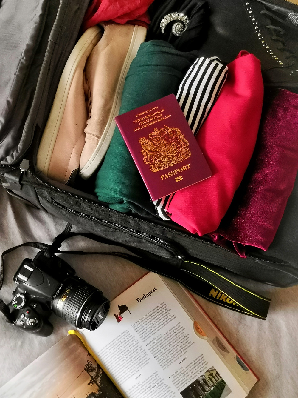 Packing for Budapest - a capsule wardrobe for a city break