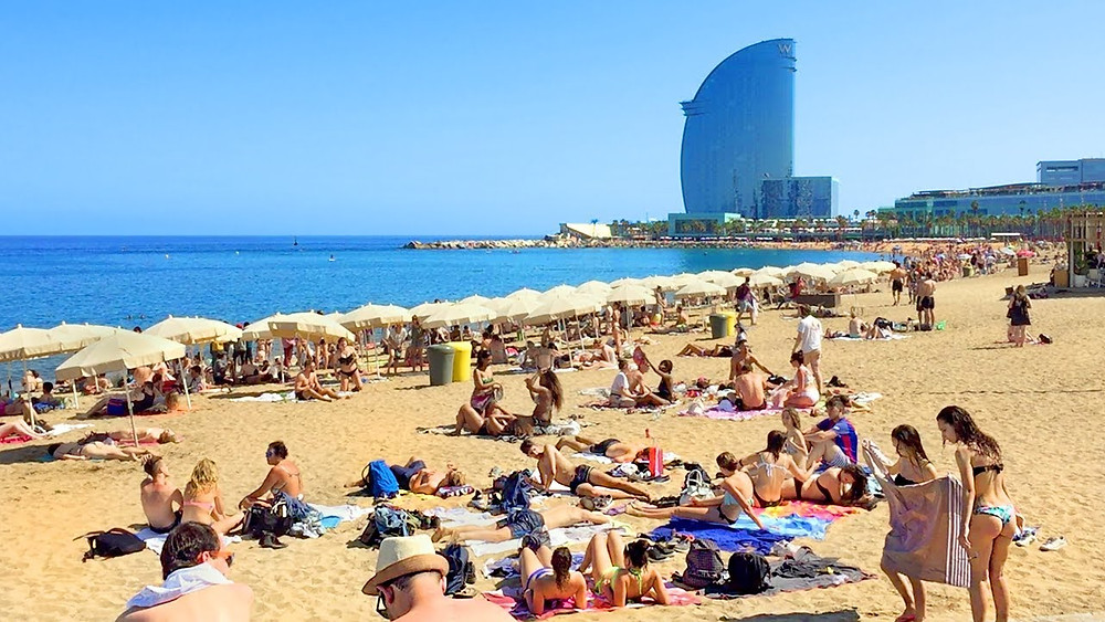 Barcelona beaches - Picture c/o Barcelona Home Blog
