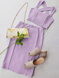 Kirsten Lilac Two Piece
