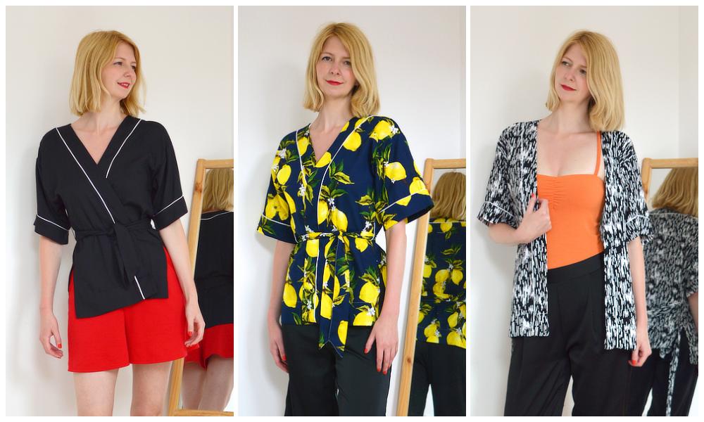 Kimono wrap shirts by Stylecamp