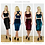 Kirsten velvet crop top and skirt set colour options