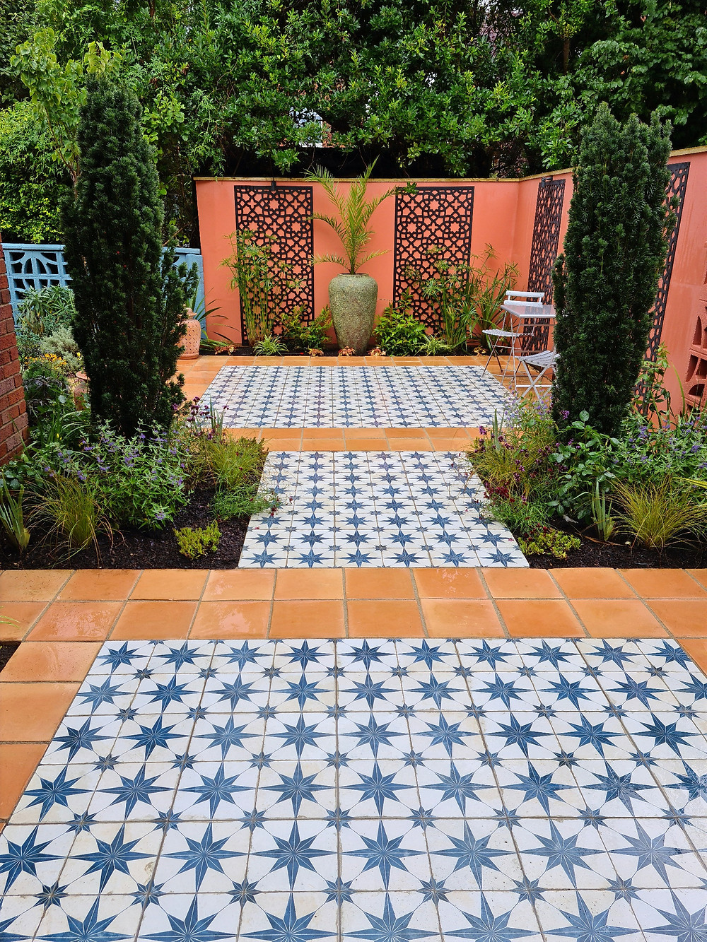 Magical Moroccan Courtyard Garden