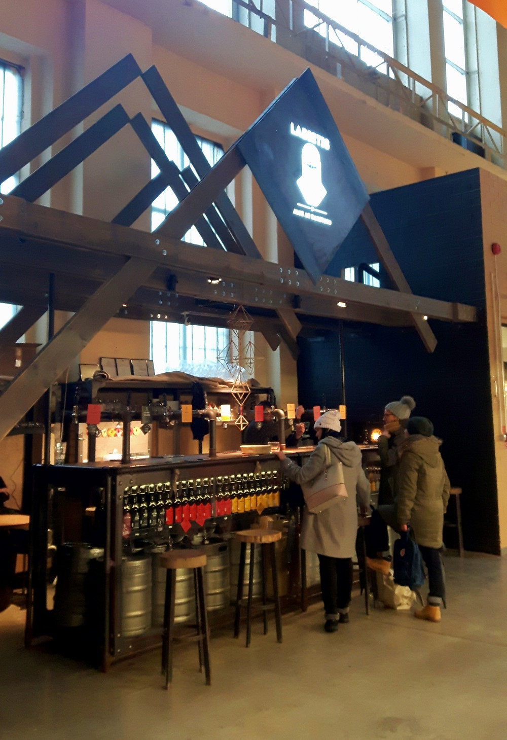 Labietis Brew Bar in Riga Central Market