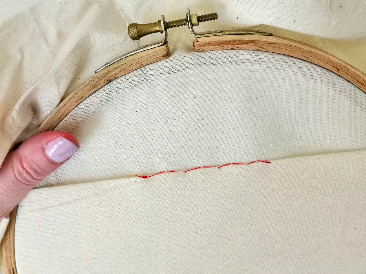 How to sew a blind stitch