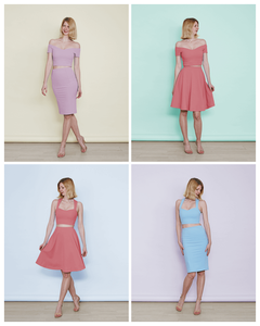 Pastel two piece dresses from Stylecamp