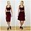 Vampy Velvet Crop Top in Red Velvet outfit options