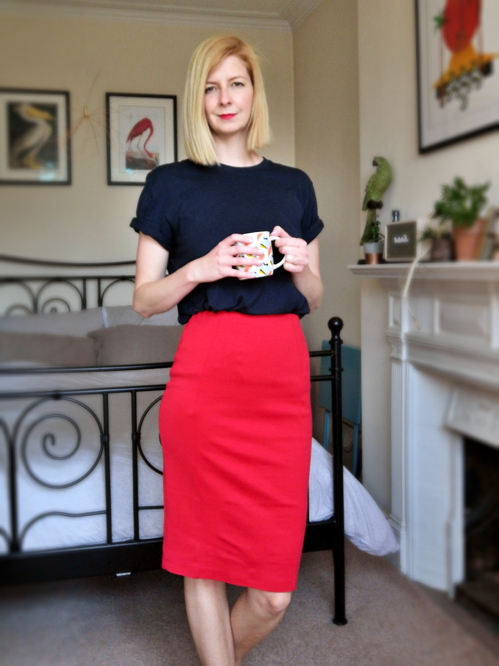 Pencil skirt - working from home wardrobe
