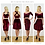 Mix n match red velvet two piece dress sets