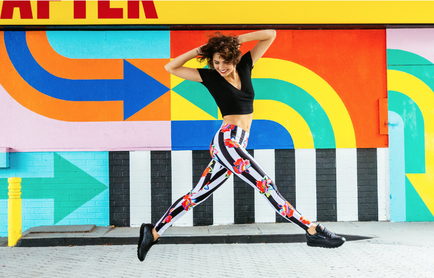 Print Bint leggings at 'Here After', White City