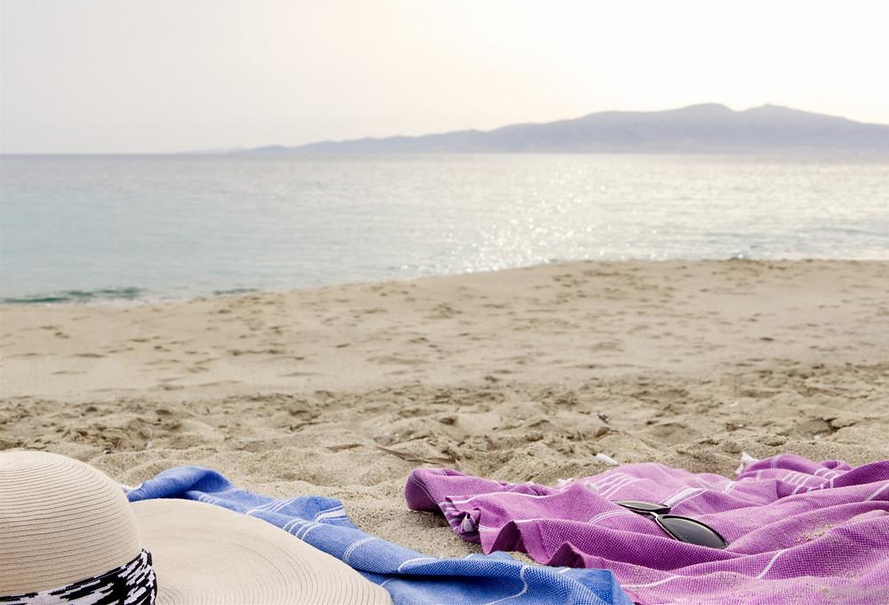 Late afternoon on Glyfada beach