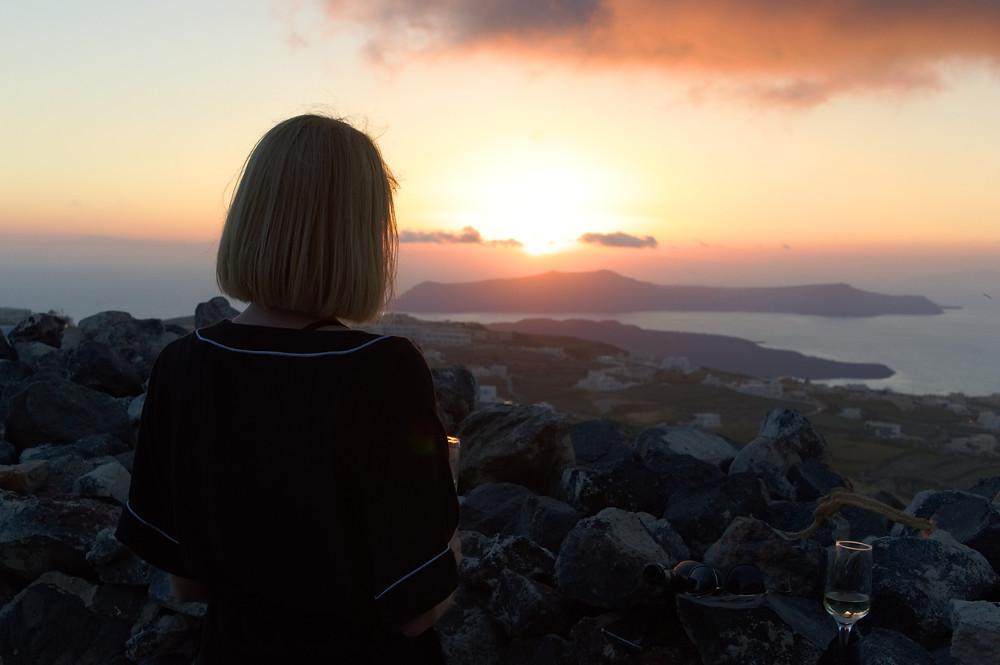 Sunset from Pyrgos