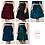 Velvet skater skirt available colours
