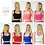 Stylecamp fitted jersey bralet available colours