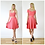 Swishy Stretch Jersey Skater Skirt in Coral Pink outfit options