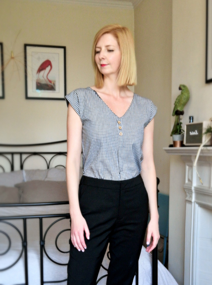 Blouse - working from home wardrobe