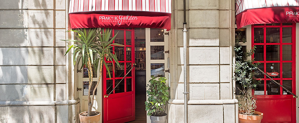Hotel Praktik Garden entrance