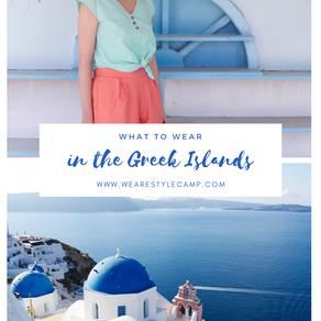 What to Wear in the Greek Islands