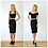 50s Style High Waisted Panelled Wiggle Skirt in Black outfit options