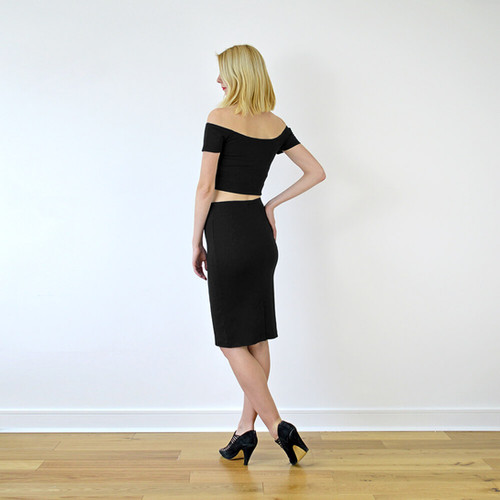 e42427845a7 Shop Audrey Crop Top and Pencil Skirt Co-Ords Sets | Stylecamp