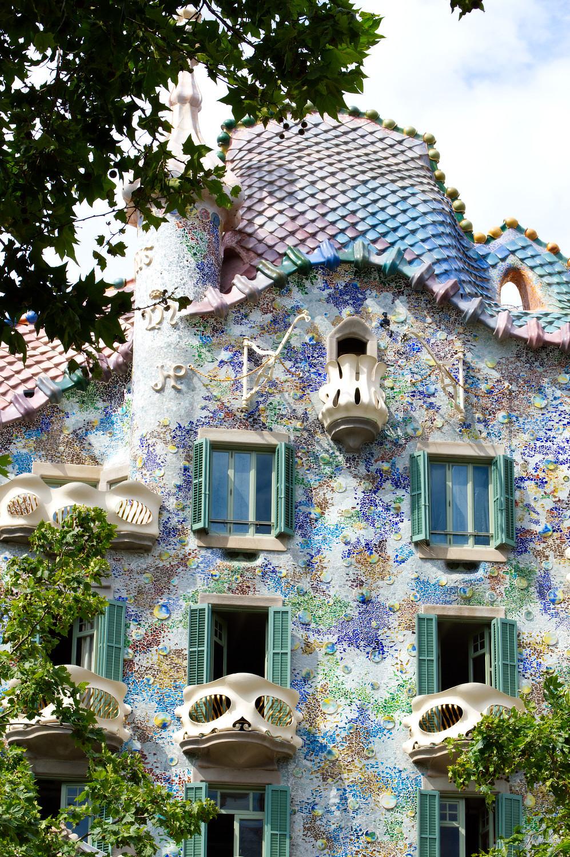 Casa Batllo exterior, Barcelona