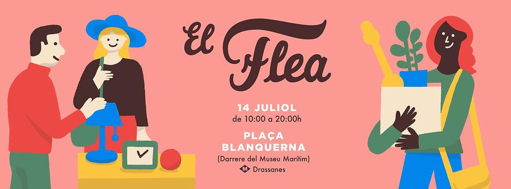 Flae market Barcelona