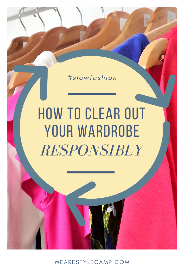 Slow fashion: How to clear out your wardrobe responsibly