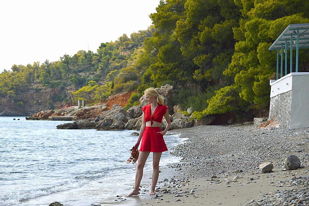 Picturesque Monastiri beach