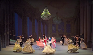 At the Blue Danube - picture c/o the Latvian National Ballet