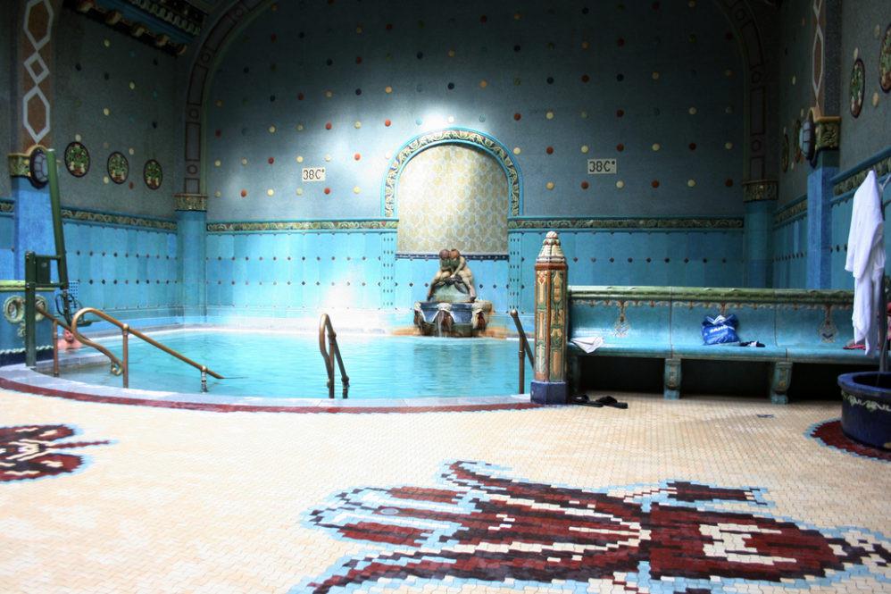 Gellért thermal pool - picture c/o gellertspa.com