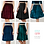 High Waisted Circle Skirt available colours