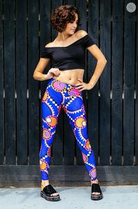 Stylecamp crop top and Print Bint leggings
