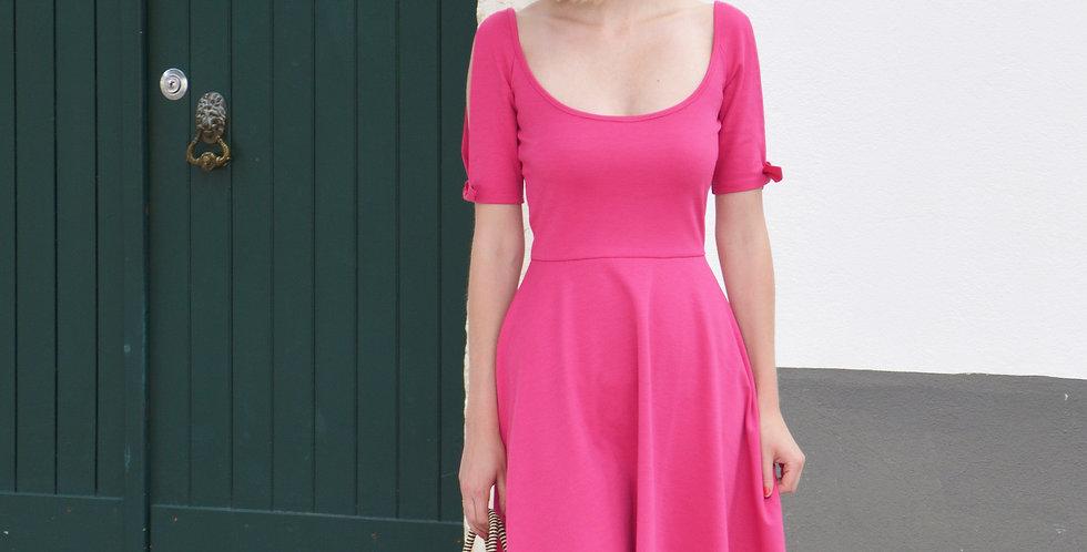 Nanette pink skater dress