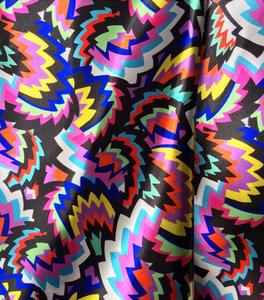 Print Bint Wave Rave pattern