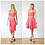 Riviera Style Vintage Sweetheart Crop Top in Coral Pink outfit options