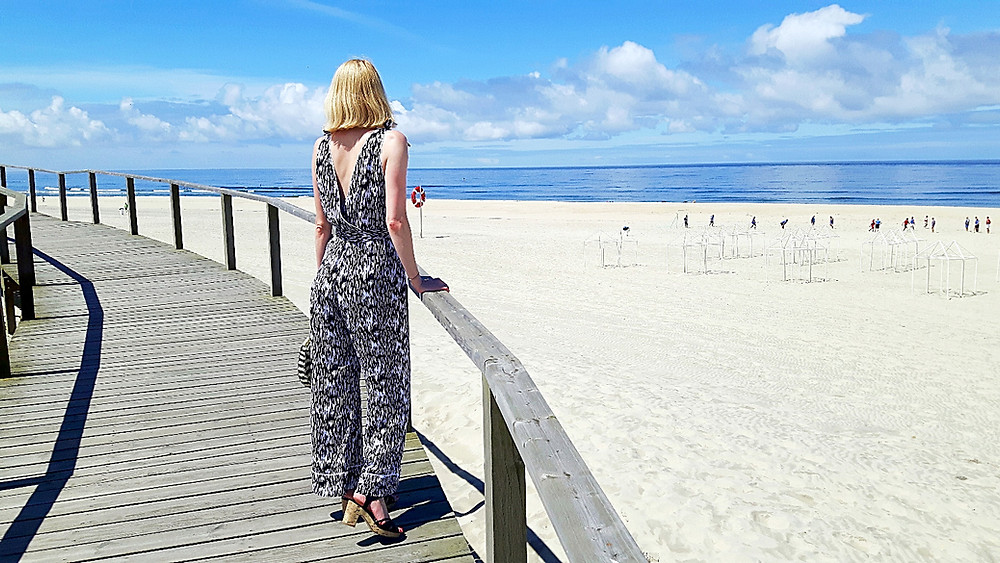 Marlene Jumpsuit at Barra beach