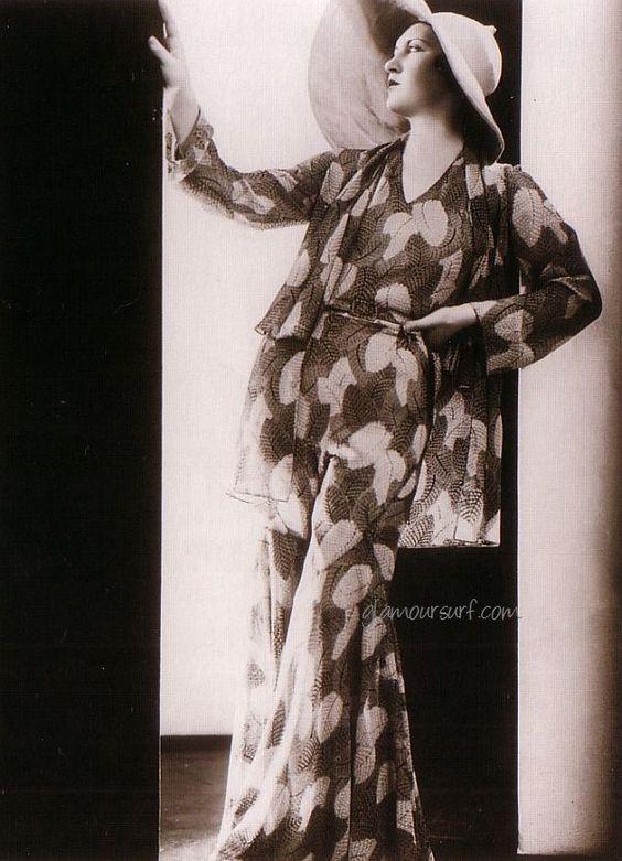 1920s Lounge Pyjamas