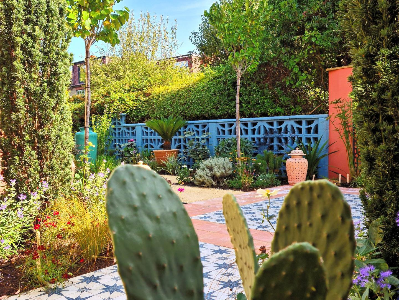 Magical Moroccan Courtyard Garden