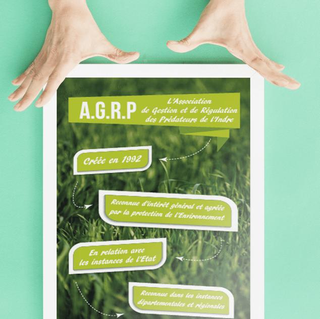 Flyer pour l'AGRP 36