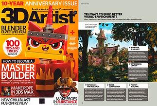 3dartist magazine Albert