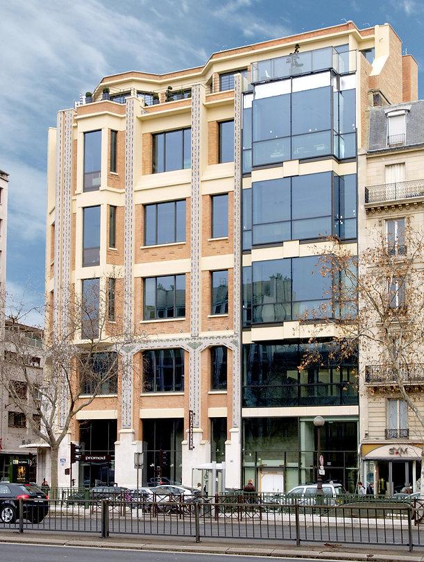 Immeuble de bureau - Immobilier d'entreprise - Hines France - Neuilly-sur-Seine - Arnaud Doiteau Architecte - IF Studio - IF Architectes - INPOST - 66 avenue Charles de Gaulle