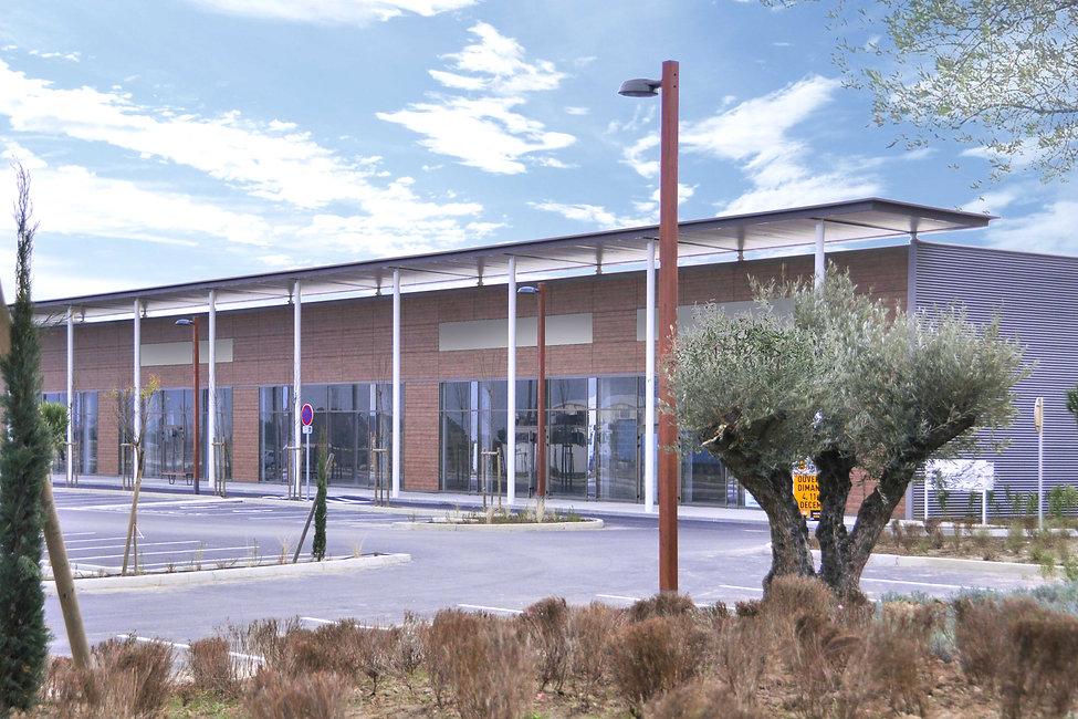 Retail Park - Secyvest - - Arnaud Doiteau Architecte – IF Studio